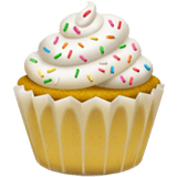 🧁 Cupcake, Apple  Emoji