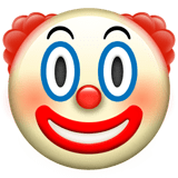 🤡 Clown Face, Apple  Emoji