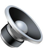 🔈 Speaker Low Volume, Emoji by Apple