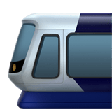 🚈 Light Rail, Apple  Emoji