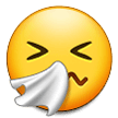 🤧 Sneezing Face, Emoji by Samsung