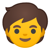 🧒 Child, Google  Emoji