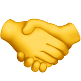 🤝 Handshake, Emoji by Apple