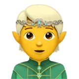 🧝 Elf, Apple  Emoji