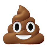 💩 Pile of Poo, Apple  Emoji