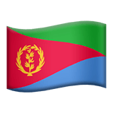 🇪🇷 Flag: Eritrea, Apple  Emoji
