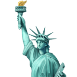 🗽 Statue of Liberty, Apple  Emoji
