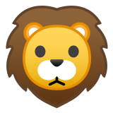 🦁 Lion, Emoji by Google