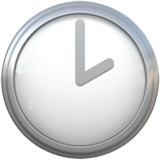 🕑 Two O'clock, Emoji by Apple