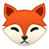 🦊 Fox, Emoji by Google