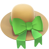 👒 Woman's Hat, Emoji by Apple