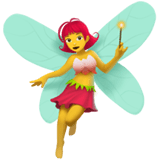 🧚‍♀️ Woman Fairy, Emoji by Apple