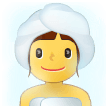🧖‍♀️ Woman in Steamy Room, Emoji by Samsung