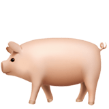 🐖 Pig, Apple  Emoji
