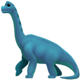 🦕 Sauropod, Emoji by Apple