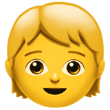🧒 Child, Apple  Emoji