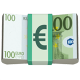 💶 Euro Banknote, Apple  Emoji