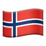 🇸🇯 Flag: Svalbard & Jan Mayen, Apple  Emoji