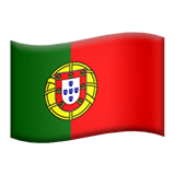 🇵🇹 Flag: Portugal, Apple  Emoji