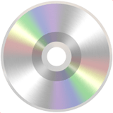 💿 Optical Disk, Apple  Emoji