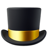 Top Hat Emoji Meaning Pictures Codes Emojiguide