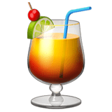 🍹 Tropical Drink, Apple  Emoji