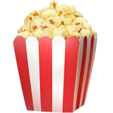 🍿 Popcorn, Apple  Emoji