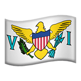 🇻🇮 Flag: U.s. Virgin Islands, Apple  Emoji