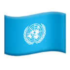 🇺🇳 Flag: United Nations, Emoji by Microsoft