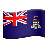 🇰🇾 Flag: Cayman Islands, Apple  Emoji
