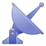 📡 Satellite Antenna, Google  Emoji