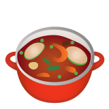 🍲 Pot of Food, Google  Emoji