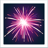 🎆 Fireworks, Apple  Emoji