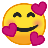 🥰 Smiling Face with Hearts Emoji – EmojiGuide