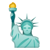 🗽 Statue of Liberty, Google  Emoji
