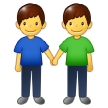 👬 Men Holding Hands, Emoji by Samsung
