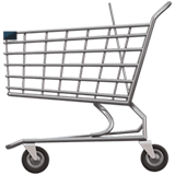 🛒 Shopping Cart, Apple  Emoji