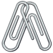 🖇️ Linked Paperclips, Samsung  Emoji