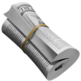 🗞️ Rolled-Up Newspaper, Apple  Emoji