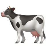 🐄 Cow, Apple  Emoji