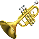 🎺 Trumpet, Apple  Emoji