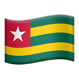 🇹🇬 Flag: Togo, Emoji by Apple