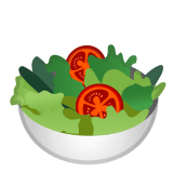 🥗 Green Salad, Emoji by Google