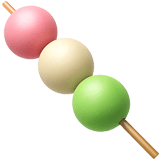 🍡 Dango, Apple  Emoji