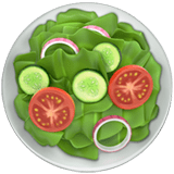 🥗 Green Salad, Emoji by Apple