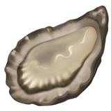 🦪 Oyster, Emoji by Apple