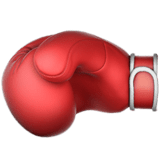 🥊 Boxing Glove, Apple  Emoji
