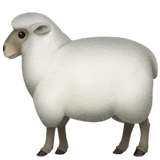 🐑 Ewe, Apple  Emoji