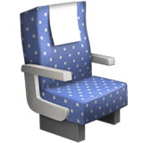 💺 Seat, Emoji by Apple