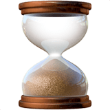⌛ Hourglass Done, Emoji by Apple